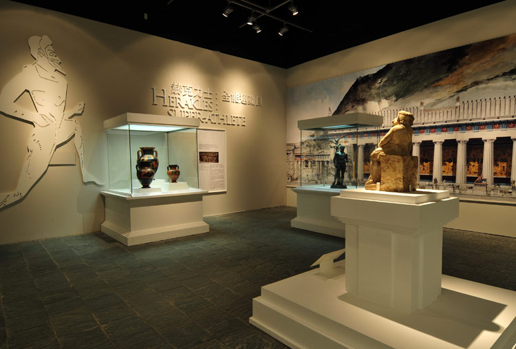 inca cases at the hong kong heritage museum