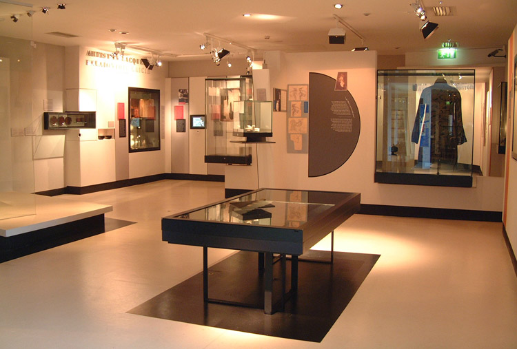 inca vista and prism cases at the National Museum of Ireland