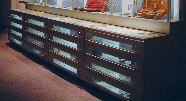 Exhibition Display Cases : Clicknetherfield museum showcases gt access