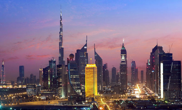dubai_world_trade_centre_night