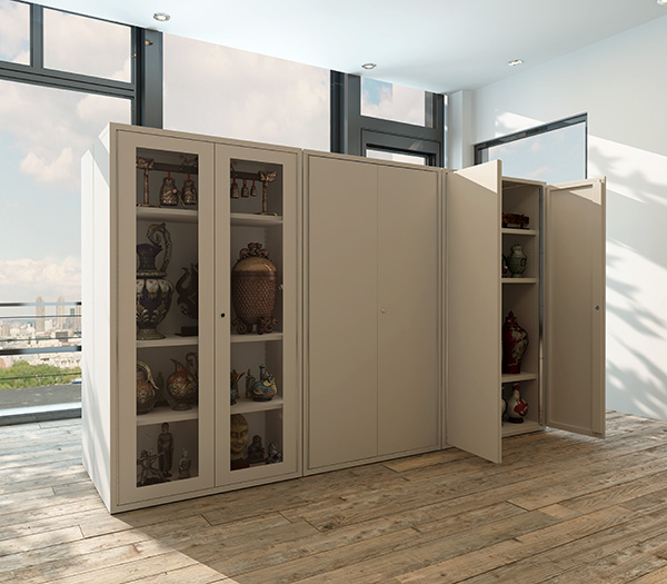 Our Clarity Store and Safe Store storage solutions provide a notably sturdy, safe a secure cabinet in a range of dimensions perfect for your back-of-house storage.